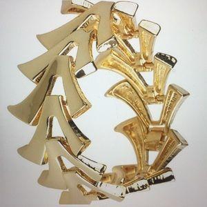 Qvc Luxe Rachel Zoe Flexible V Link Bracelet